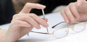 Riparazione occhiali